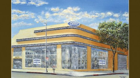 Defunct Car Dealer Series #8 Ford ~ Beverly Hills, CA