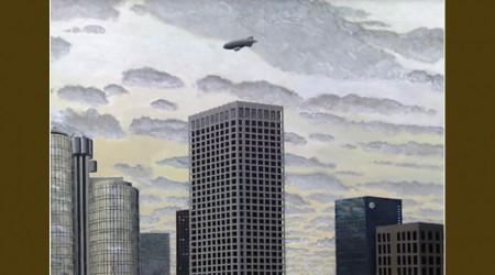Downtown L.A. + Blimp